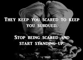 scared to enslave